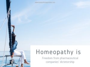 Homeopathy is freedom.homeotherapy online