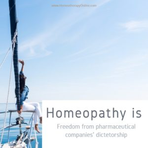 Homeopathy is freedom...1080 homeotherapy online