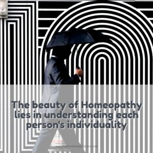 Homeopathy lies in individuality 1080.homeotherapyonline