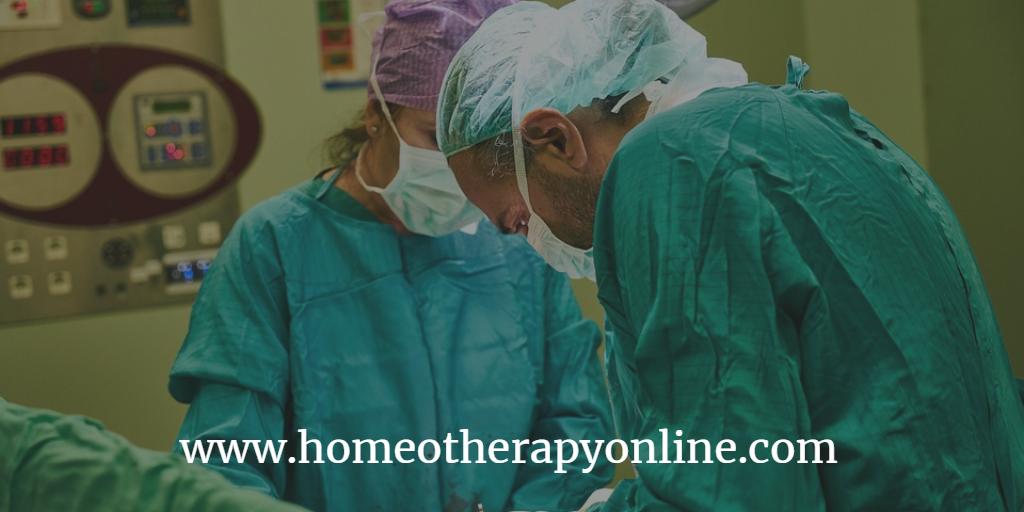 Ομοιοπαθητική χειρουργικές επεμβάσεις.homeotherapyonline